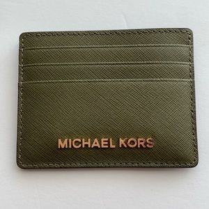 NWT MICHAEL Michael Kors card holder
